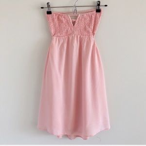 Tobi Open Back Strapless Summer Dress S